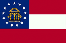 GEORGIA (NEW) - 5 X 3 FLAG